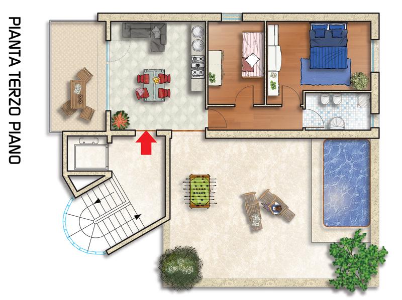Architettura piante case idea creativa della casa e dell for Planimetrie della casa plurifamiliare