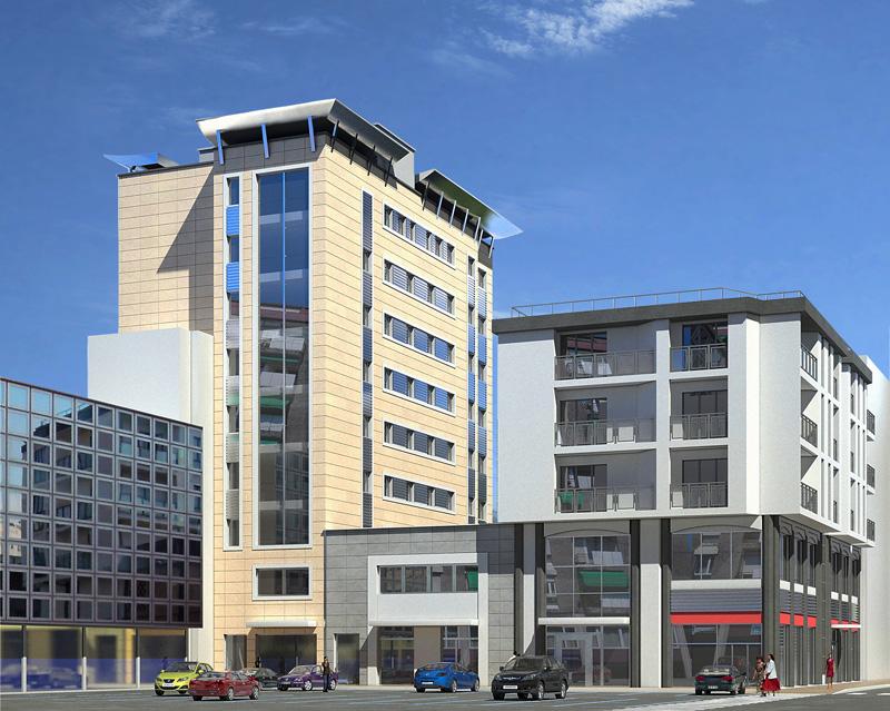 Miorstudio progettazione e rappresentazione dell for Palazzo a due piani